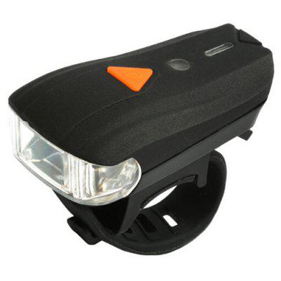Intelligent Brightness Adjustment Bicycle Front Light Smart Sensing Headlight Vibration Alert Bike Lamp