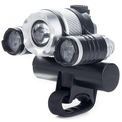 Multi-functional Bicycle Front Light USB Charging Induction Zoom Light