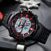 SANDA 776 Men's Multifunction Electronic Watch Water-resistant Special Forces Fashion Wristwatch - RED