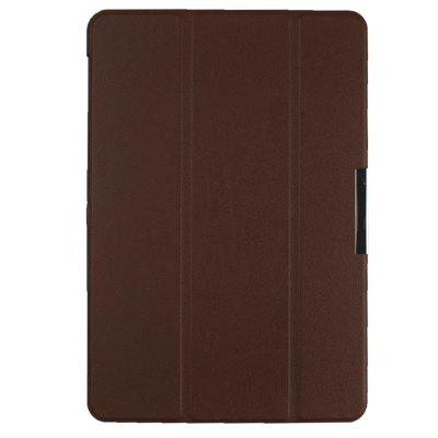 Tri-folded Tablet Holster PU Leather Protective Cover Smart Wake Up Case for Samsung Note 10.1 2014 P600 P601