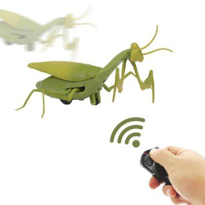 Remote Control Mantis Simulated Insect Infrared Sensing Portable RC Toy for Kids Gift