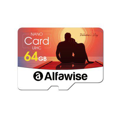 Alfawise Walentynki Edition 64GB High Speed ​​High Capacity Micro SD Card