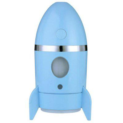 Rocket Luchtbevochtiger 135ml Ultrasonic etherische olie Timer