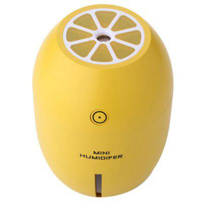 180ml Mini USB Lemon Forma Umidificator USB de încărcare cu LED-uri Silent purificator de aer