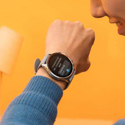 Xiaomi Mi Watch Color Smart Watch with Firstbeat Algorithm and XiaoAi Voice Assistant Provides More Accurate Fitness Tracking & Convenient Operation