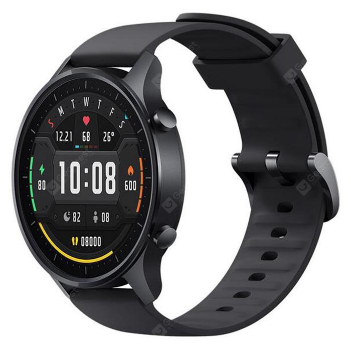 Xiaomi Mi Watch Color Smart Watch with 1.39 inch AMOLED Screen 10 Sports Mode 14 Days Standby 5ATM Waterproof - Black