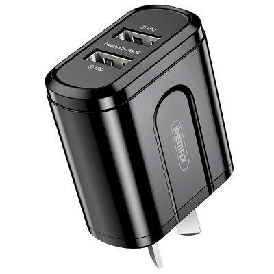 REMAX RP-U22 2.4A Dual USB Output Charger AU Adapter