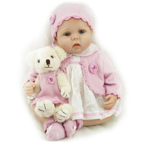 Children/'s toddler toy  Doll Accessories Kid Doll Toy with 3.5 inch doll H