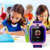 Q12 Touch Screen Kids Smart Phone Watch Front-facing Camera LBS GPS Positioning - PINK