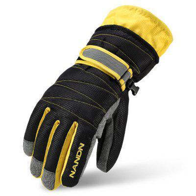 Winter Windproof Ski Gloves Water-resistant Cycling Warm Glove