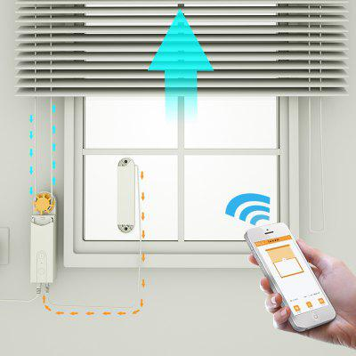 DIY Smart Motorized Chain Roller Blind Shade Shutter Drive Motor Solar-powered App Control Bluetooth Curtain Driver