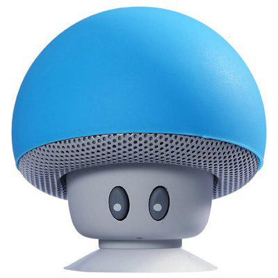 Cartoon Mini Mushroom Wireless Bluetooth Speaker Creative Phone Holder