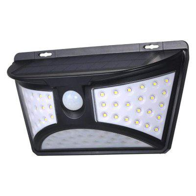 BRELONG BR-0153 68 LED zonne Licht van de Muur PIR Human Body Motion Sensor Outdoor Waterdichte Lamp
