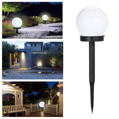 BRELONG BR-0154 Circular LED Solar Lawn Lamp Outdoor Garden Light