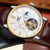 GUANQIN 16036 Men's Fashion Automatic Mechanical Watch Fine Steel Case Multifunction Wristwatch - MULTI-C