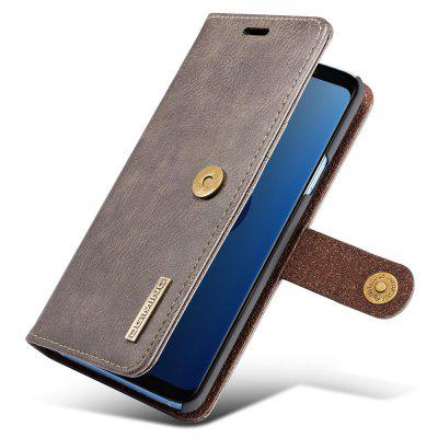 Retro 3-in-1 Ultra-thin Flip Phone Case PU Leather Protective Cover for Samsung Galaxy S9 Plus