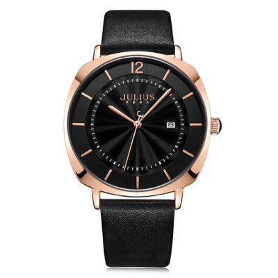 JA-1190 Couple Retro Style Quartz Watch Water-resistant Lover Wristwatch for Man / Woman