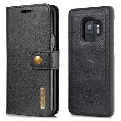 Luxury Magnetic Detachable Horizontal Leather Phone Case with Card Slots Wallet for Samsung Galaxy S9