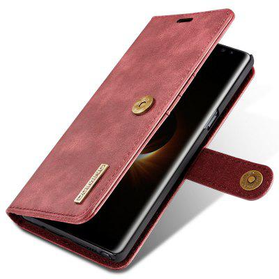 Luxury Leather Wallet Phone Case with Card Slots Lanyard for Samsung Galaxy Note 8