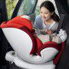 QBORN QQ123KX 360-degree Swivel Child Car Safety Seat for 0 - 12 Years Old Children from Xiaomi youpin - TANGERINE
