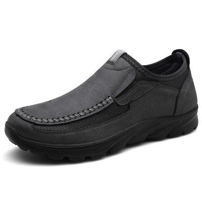 Men's Casual Shoes Wear Simple Patchwork Breathable Footwear