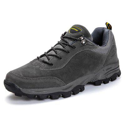 Mannen Mountaineering Outdoor sportschoenen Handmade Lace Up Sneaker