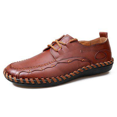 Men's Handmade Casual Shoes Comfortable Artificial Leather Footwear