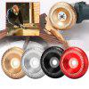 100mm Wood Angle Grinding Wheel Rotary Tool Shaping Disc for Angle Grinder - RED