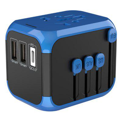 SL-390PD Global Connect Adapter Travel Plug Universal Socket