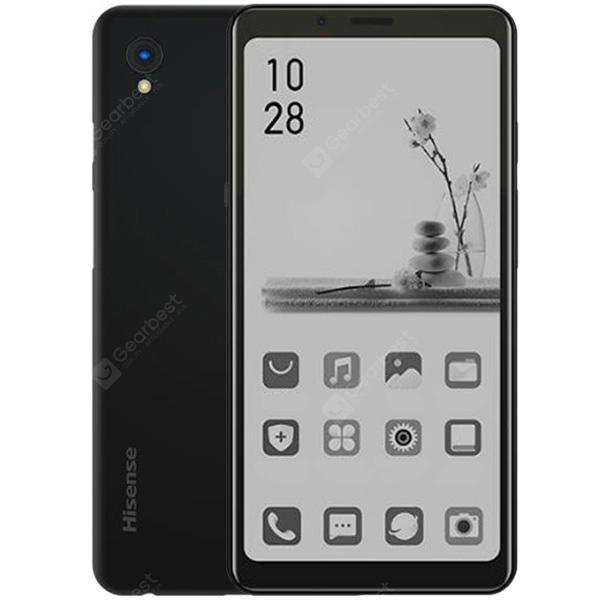 Hisense A5 4G Reading Smartphone 5.84 inch Android P Snapdragon 439 Octa Core 4GB RAM 32GB ROM 13MP Rear Camera 4000mAh Battery CN Version- Black