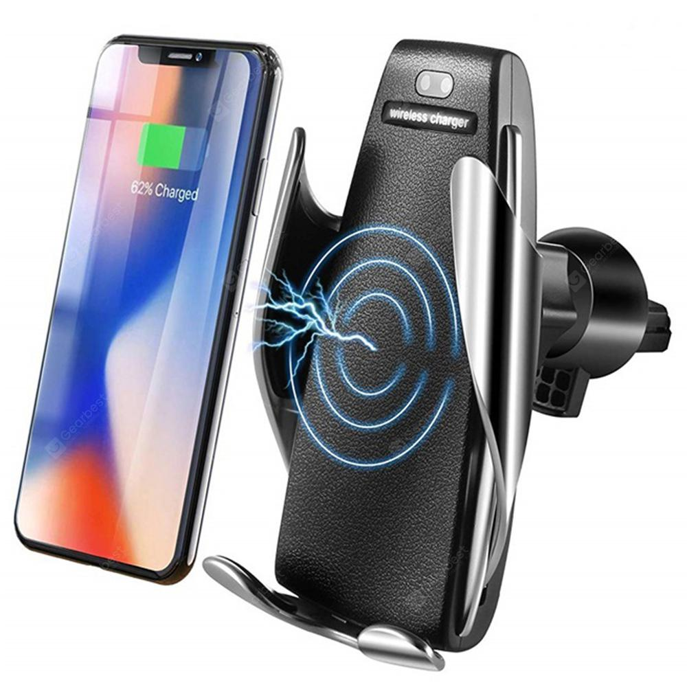 Gocomma Universal 10W Infrared Sensing Qi Wireless Fast Charging Car Charger Air Vent Phone Holder Gravity Mount