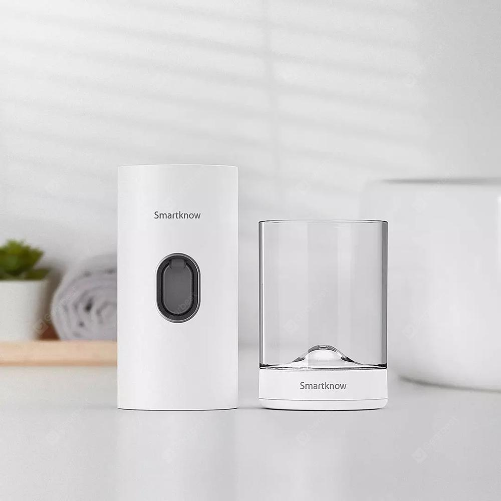 Smartknow Automatic Sensor Toothpaste Machine Sterilizating Toothbrushing Cup Set from Xiaomi Youpin - White
