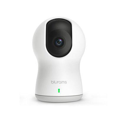 Blurams Dome Pro 1080P WiFi IP Camera Home Security CCTV Camera With Pan Tilt Function Two Way Audio Night Vision