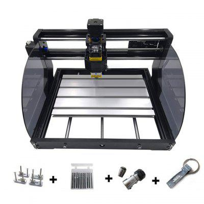 CNC3018 Pro Max Laser GRBL Control Three-axis Laser Cutting Engraving Machine CNC