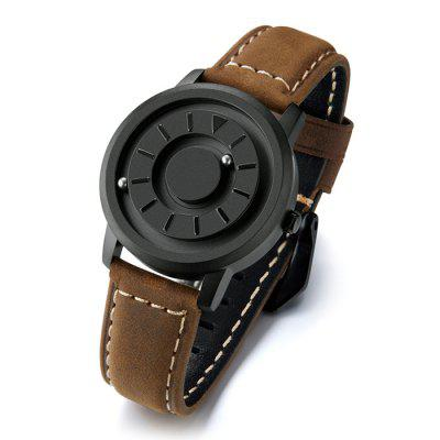 EUTOUR E099 Creative Magnetic Quartz Watch Simple Men Watches