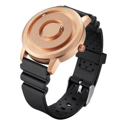 EUTOUR E024 Ball Magnetic Quartz Watch Men Simple Watches