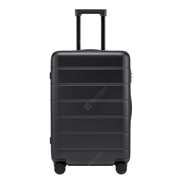 """Xiaomi 20 inch 24 inch 28 inch Luggage Suitcase for Business Traveling - 20 INCH Black"""
