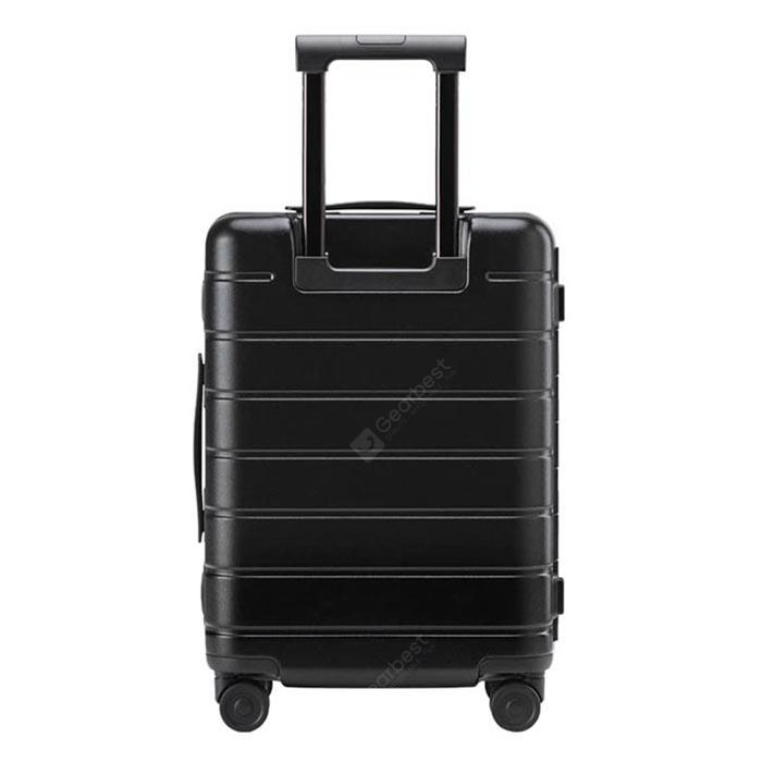 """Xiaomi 90FUN 20 inch 24 inch Frame Traveling Luggage Suitcase - 20 INCH Black"""