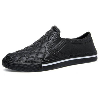 AILADUN PU Men Shoes Slip On Footwear for Spring Autumn