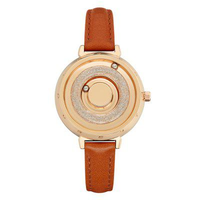 EUTOUR E028 Female Ball Magnetic Quartz Watch Personality Simple Creative Watches