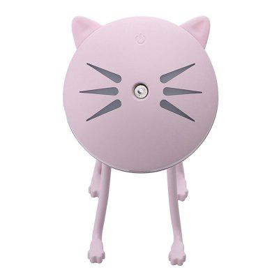 Ultrahangos Mini Cat alakú USB párásító diffúzor Office Home