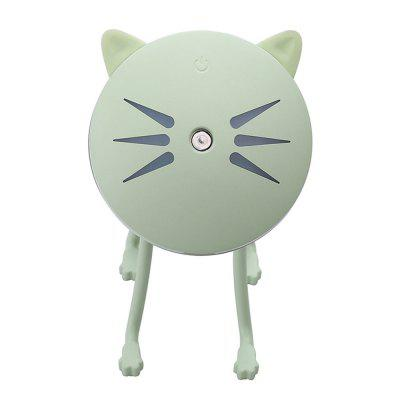 Ultrasonic Mini Cat-Shaped USB Air Humidifier Diffuser for Office Home
