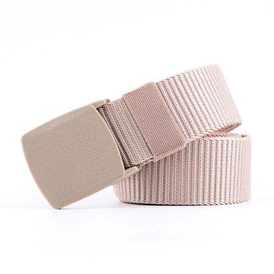 Z150 Canvas Men Belt Casual Sports Waistband Belt with Smooth Buckle