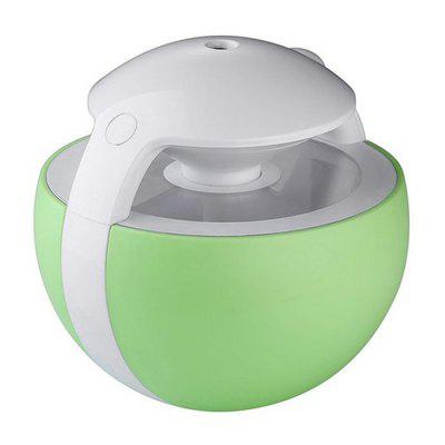 Ball Shape USB Charging Air Humidifier Desktop Luminous Diffuser for Family Bedroom