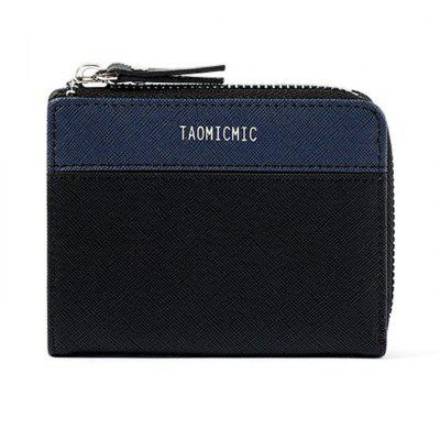 Men Multi-card Coin Purse Business Casual PU Leather Men Wallet