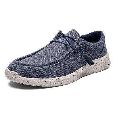 AILADUN Ultra-light Casual Shoes Large Size Canvas Lazy Men Shoes Slip On Footwear