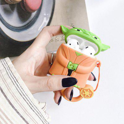 Cute Cartoon Headphone Soft Silicone Protective Case Carrying Sleeve for AirPods 1 2