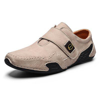 AILADUN Men Casual Shoes Handmade Large Size Footwear with PU Leather