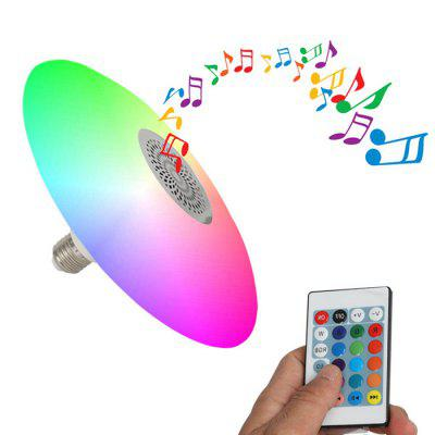 BRELONG LED Lampadina Bluetooth Musicale Wireless Intelligente Telecomando Lampadina Colorata