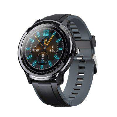 Kospet Probe 1.3 inch scherm Bluetooth Sports Smart horloge IP68 Waterdicht Double Color Fashion Strap Fitness Monitor Twee kleine geschenken